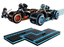 figure motorcycle cycle set lot Tron Legacy 21314 building bricks disney action