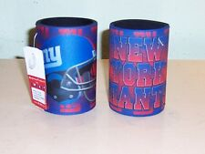 Lot of 2 NFL NY Giants Can Holder Koozie New With Tag