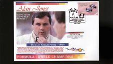 ALAN JONES 1980 F1 WORLD CHAMPION COVER, WILLIAMS 2