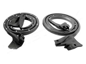 1981-1987 Buick Regal & GN 2 dr coupe new rubber door weatherstrip seals, pair