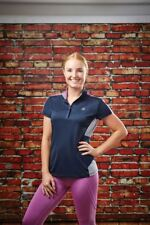 Dublin Ladies Fuller Horse Riding Eventing Short Sleeve Showing Polo Shirt Top