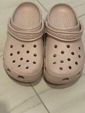 Womens Crocs 11 Light Pink