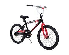 "NEW Dynacraft Magna Throttle Boys BMX Street/Dirt Bike 20"" Black/Red/White"