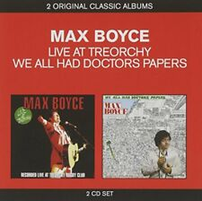 Max Boyce - Live At Treorchy  We All Had Doctors Papers [CD]