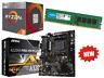 AMD Quad Core Ryzen 3 Gaming Bundle 8GB RAM, MSI Motherboard Pro