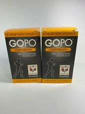 GOPO Joint Health - ROSE-HIP With Vitamins C - 2x - 240 Capsules Brand New