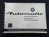 Orig. BMW Betriebsanleitung Automatic ZF Automatik Getriebe 3 HP 12 und 3 HP 20