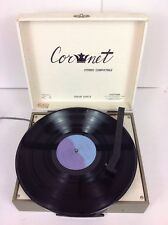 VINTAGE Cornet Stereophonic Solid State Turntable Record Player