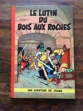 Rare Johan Et Pirlouit Le Lutin Du Bois Aux Roche E.O Française 1956