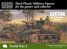 15mm SEXTON SELF PROPELLED ARTILLERY - PLASTIC SOLDIER COMPANY - SENT 1ST CLASS