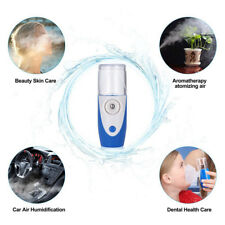 Portable Rechargeable Handheld Ultrasonic Nebulizer Respirator Humidifier Kids #