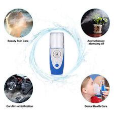 Portable Rechargeable Handheld Ultrasonic Nebulizer Respirator Humidifier Kids ~