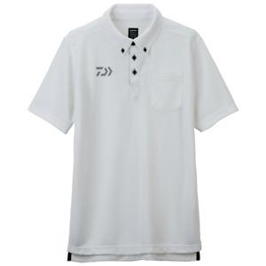 Sale Daiwa DE-6507 Polo T Shirt Short Sleeve White Size L 110884