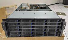 Norco 4U 24-bay ServerSupermicro X10DRL-i 2x Xeon E5-2620 v3 32GB RAM