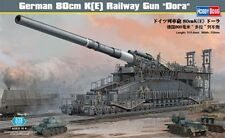HOBBYBOSS GERMAN 80cm K (E) RAILWAY GUN DORA SCALA 1:72 COD.ART.82911