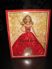 2014 BARBIE HOLIDAY da Collezione Bambola Nuovo con Scatola con LIBERA regalo avvolgimento