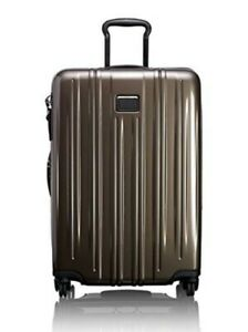 """NWT Tumi V3  26"""" Short Trip Expandable Packing Case in Mink $725."""