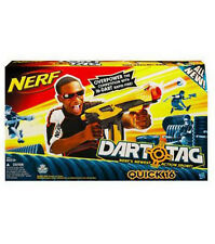 Brand New Hasbro NERF Dart Tag QUICK 16 Blaster with 16 Pcs Darts.