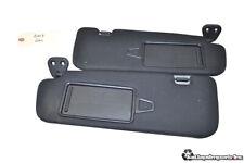 13-16 Hyundai Genesis Coupe oem Right Left Sunvisor Sun Visor Set Black