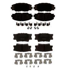 Front and Rear Ceramic Brake Pad Set Kit ACDelco For Toyota RAV4 Pontiac Vibe
