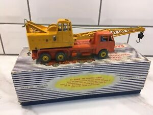 Vintage Dinky Supertoys No. 972 Coles 20-Ton Lorry Mounted Crane with box
