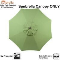 Sunbrella Umbrella Canopy Replacement  Fit 9 FT 8 Ribs Outdoor Patio Umbrella