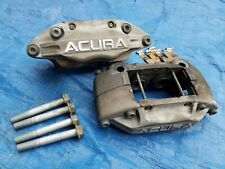 '05-12 Acura RL Advics OEM 4-Piston Pot Aluminum Front Brake Calipers + Bolts