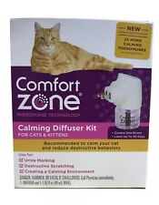 New Comfort Zone Calming Diffuser Kit for Cats & Kittens Sample Pack