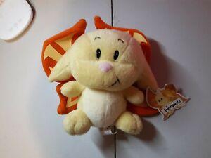 Rare Lim Ed 2003 Neopets Yellow and Orange Faerie Kacheek Plush Plushie Doll NWT