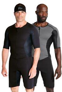 Kutting Weight Neoprene Weight Loss One-piece Men's Sauna Suit Fitness Apparel