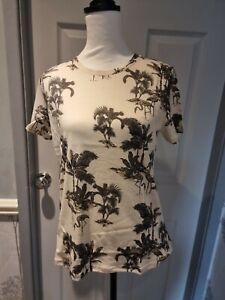 Ladies  warehouse Size 12 Hawaiian Island T Shirt Bnwt