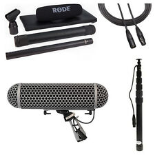 Rode NTG3B Microphone with Rode Blimp, K-Tek 79CC Boompole & 20' XLR Cable