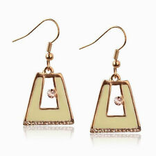 Crystal Enamel Alloy Drop/Dangle Costume Earrings