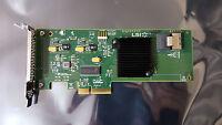 LSI MEGARAID SAS9211-i4 4 PORT SATA/SAS PCIe x4 RAID 0,1,10 LOW PROFILE CARD