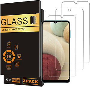 3 Pack HD Tempered Glass Screen Protector For Samsung Galaxy A02S Galaxy A02