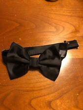 Kids emporio Armani bow tie black