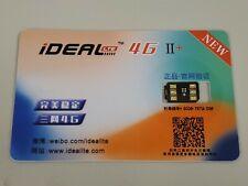 2020New iDeal 4G II+ Unlock Turbo Sim Card for iPhone X XS 8 7 6SPlus NEW