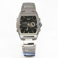 Casio efa-120d -1 avef edifice termómetro reloj hombre nuevo y original