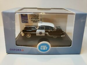 HO SCALE 1/87 1954 PONTIAC CHIEFTAIN CALIFORNIA HIGHWAY PATROL 87PC54003