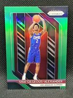 2018 Panini Prizm Green Shai Gilgeous-Alexander Centered HOT