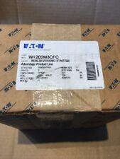 EATON CUTLER HAMMER W+200M3CFC Size 3 W200 Advantage Starter W200M3CFC NEW