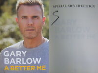 Signed Book A Better Me : The Autobiography by Gary Barlow Hdbk 1st Edition 2018