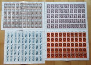 Österreich Sondermarken-Bogen 4 Stück (IZ5356), alle Bogen postfrisch**
