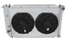 "3 Row All Aluminum Champion DR Radiator 2 x 12"" Fan Shroud Combo"