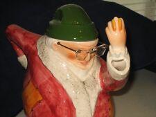 Heritage Village Dept 56 Ebenezer Scrooge Tea Pot Teapot HTF RARE! A Xmas Carol