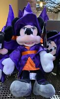 """Disney Parks Exclusive Minnie Mouse as Witch 12"""" Plush Halloween 2019 New"""