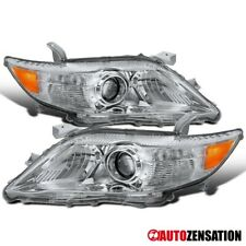 "For 2010-2011 Toyota Camry ""USA Built"" Clear Projector Headlighst Lamps Pair"
