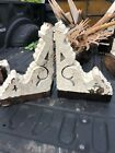 Pretty pair c1880 victorian gingerbread porch OR eave corbel brackets 15 11 4