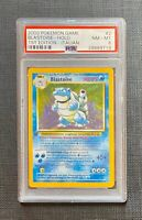Pokemon PSA 8 Blastoise Holo 1st Edition Base Set #2/102 Italian (L)