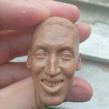 Blank Hot 1/6 Scale NBA Superstar Scottie Pippen Head Sculpt Unpainted Fit 12""